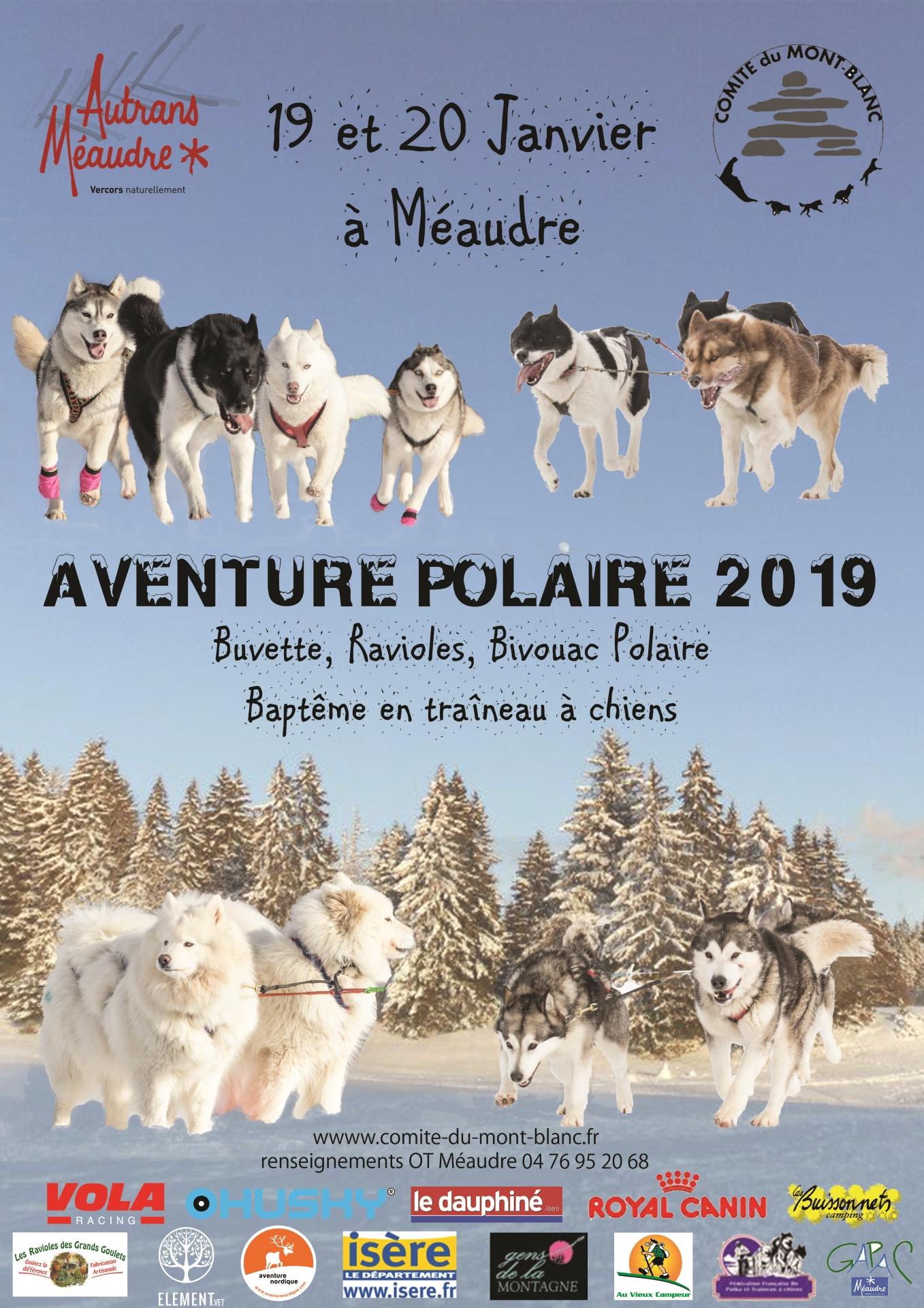 Affiche aventure polaire meaudre 2019 75 compressor