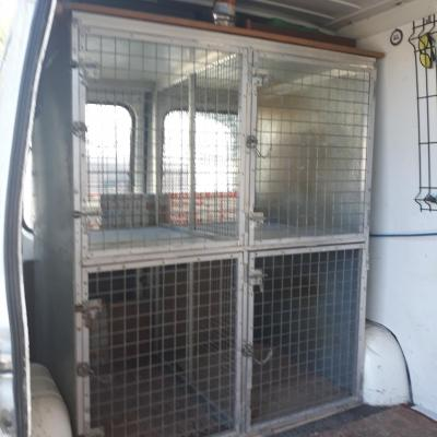 Cage de transport compressor