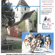 Course chiens traineaux coteaux tonnerrois junay 89 affiche page 0001