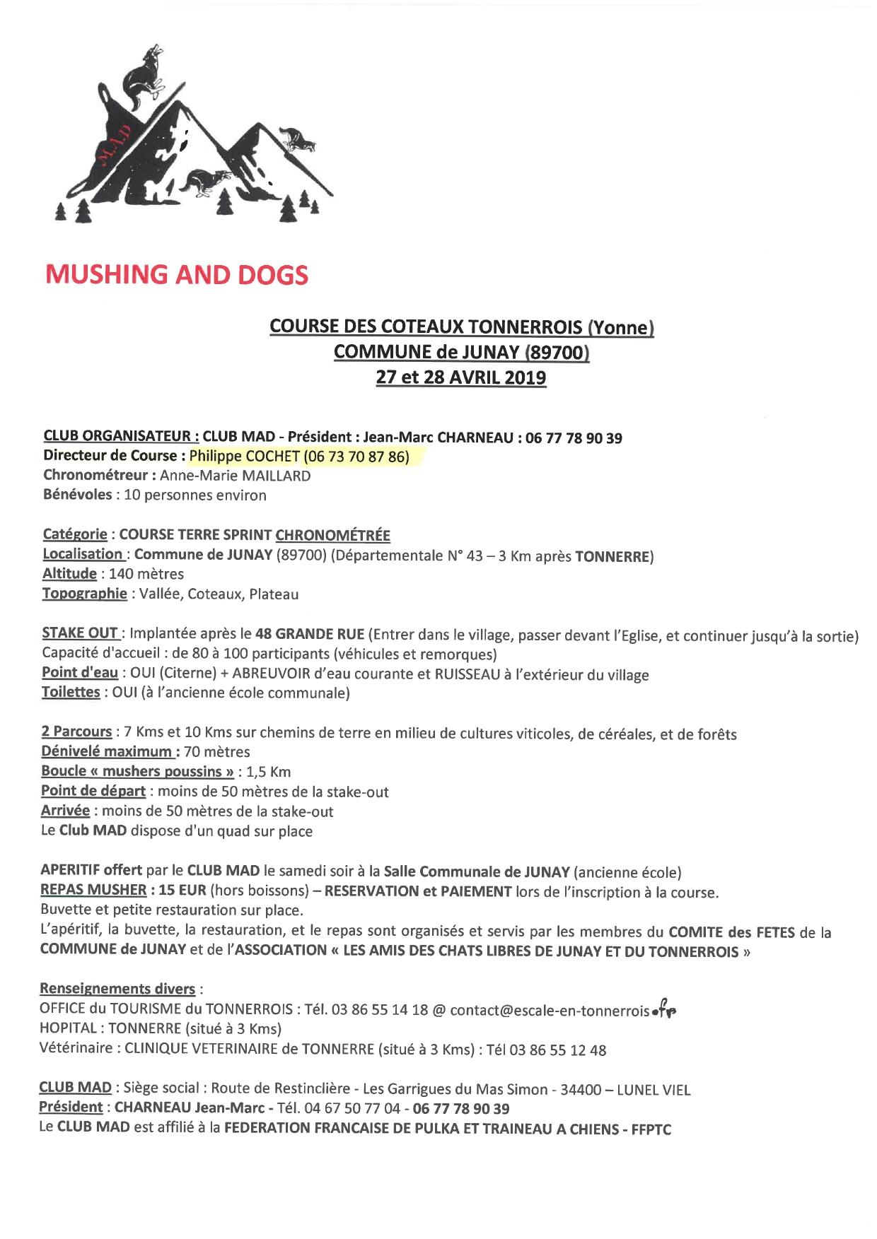 Fiche renseignements course coteaux tonnerrois junay 89700 2019 page 0001