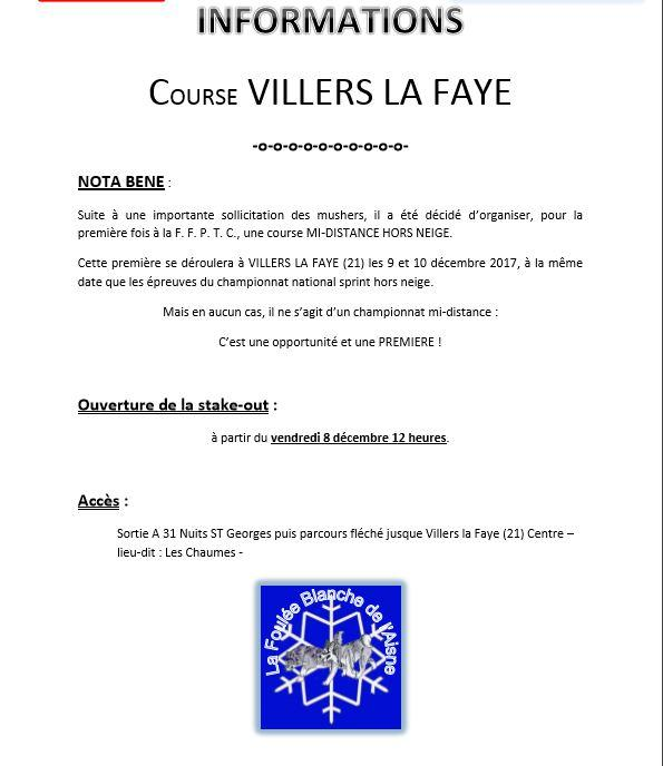 Villers info